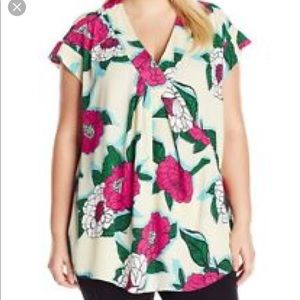 Melissa McCarthy Seven short sleeved blouse